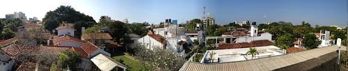 Bawa House 33rd Lane roof top panorama
