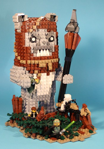 Big Angry Ewoks! by George G -