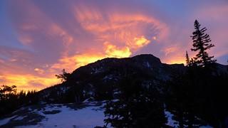 Sunrise at Glacier Gorge