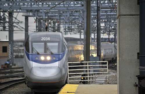 Amtrak Acela Boston by Loco Steve