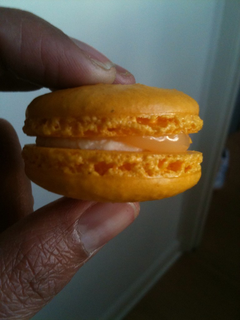 Lemon macarons are my favorite.