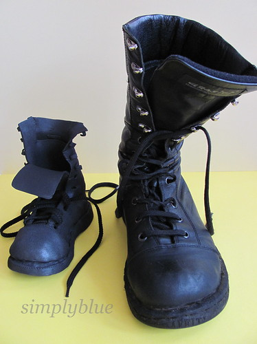 the combat boots