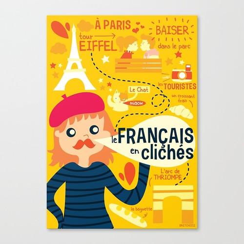 le Francais en cliches