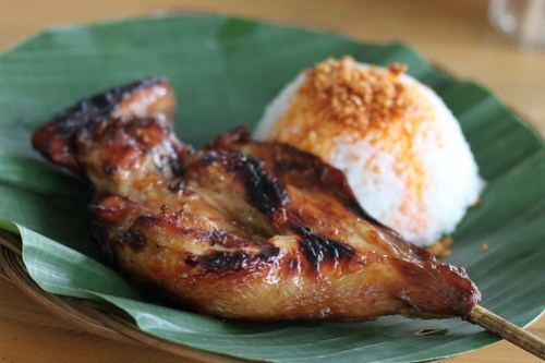 Pecho with Garlic Rice at JT's Manukan Grille