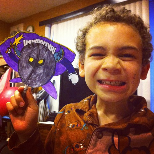 Aidan and Meta Knight