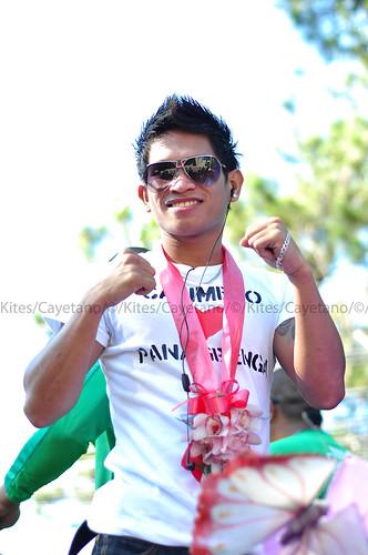 Johreil Casimero (New IBF Junior Flyweight Champion) @ Panagbenga 2012