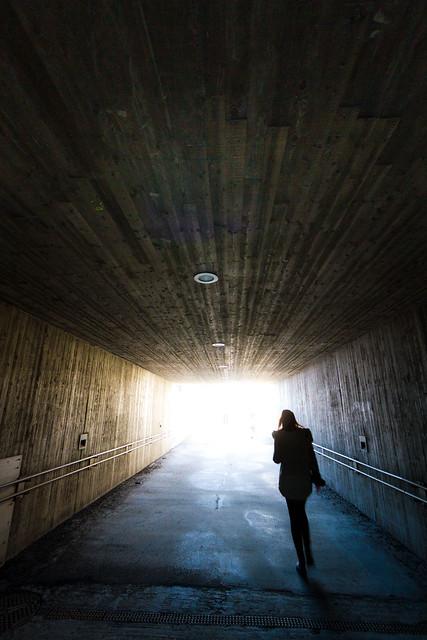 Tunnel. Lillestrøm.