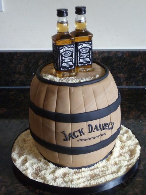 Jack Daniels Cake March 2012 The Hardest Part About