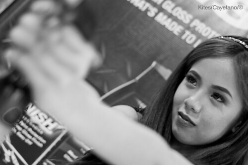 Trans Sport Auto Show 2012 - Michanne Kaye Mika Umali