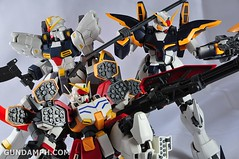 MG 1-100 Gundam HeavyArms EW Unboxing OOTB Review (111)