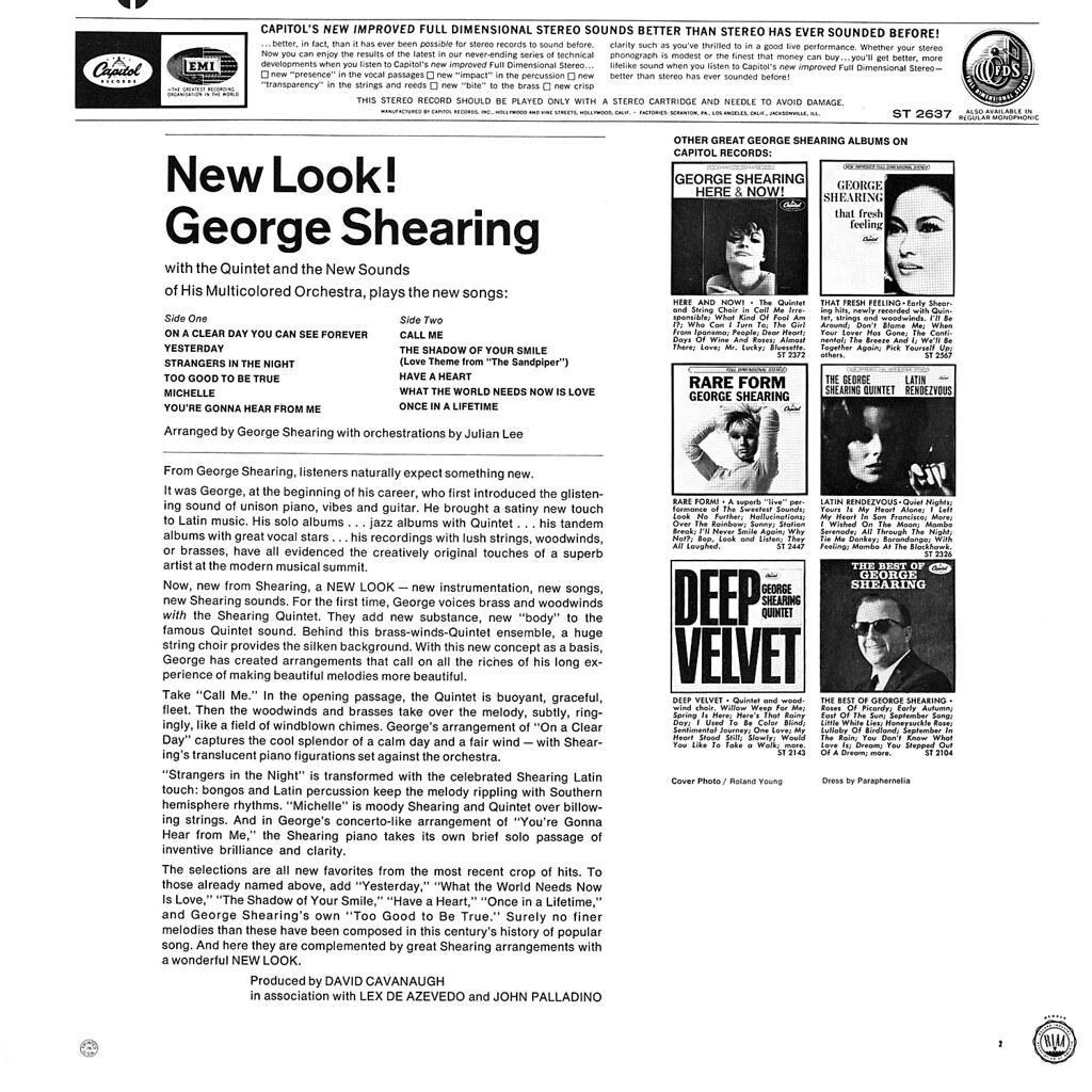 George Shearing - New Look!