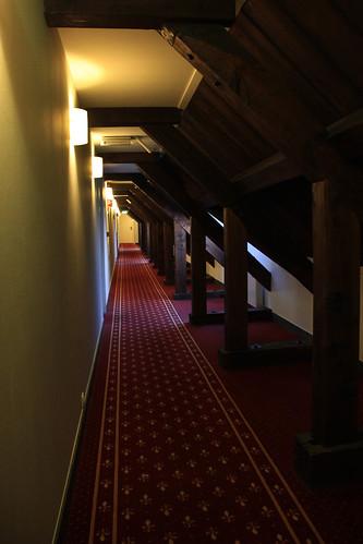 Karel V hotel hall