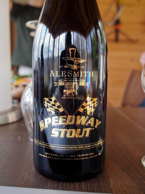 Alesmith Speedway Stout BA w/ Kopi Luwak Coffee