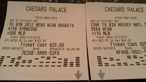 i didn't exactly bet on the gophers, but still.