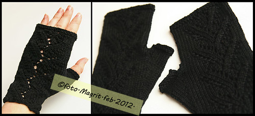 black fingerless