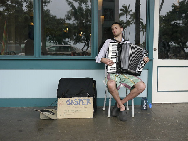 Jasper, The Accordionist-Poet