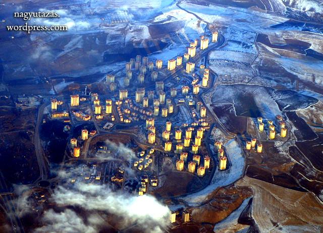 A török főváros madártávlatból