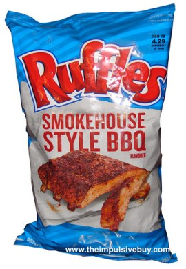 Ruffles Smokehouse Style BBQ Potato Chips