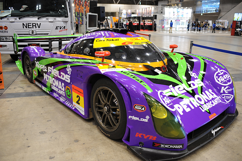 Evangelion Racing and Good Smile Racing @ Winter WonFest 2012