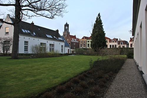 Karel V hotel courtyard