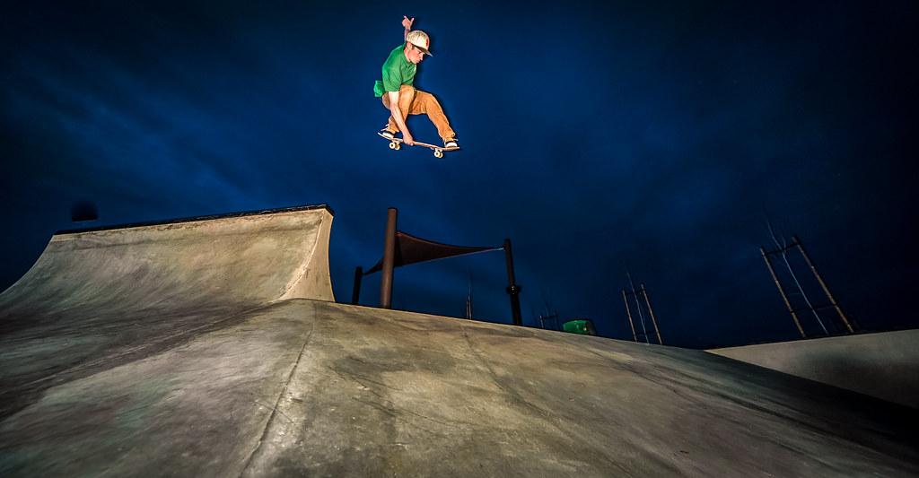 Ryan McWhirter Indy Nosebone in the dark
