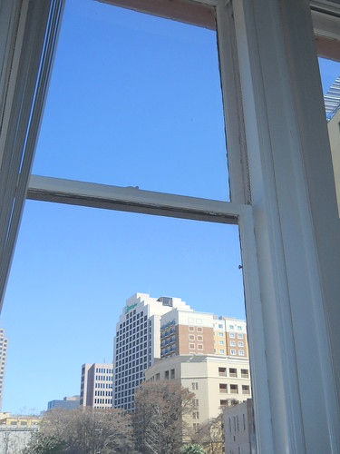 Blue skies out my windows