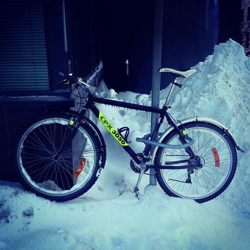 Iced bike