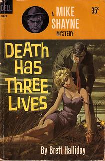 Halliday - Death Has Three Lives - (Collage XXIV)