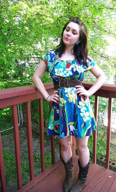 Hawaiian Dress Recon