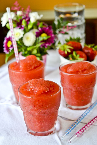 Strawberry Wine Slushies 5