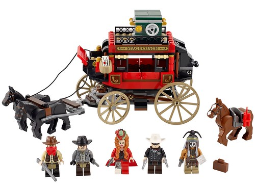 The Lone Ranger 79108 Stagecoach Escape 00 79108
