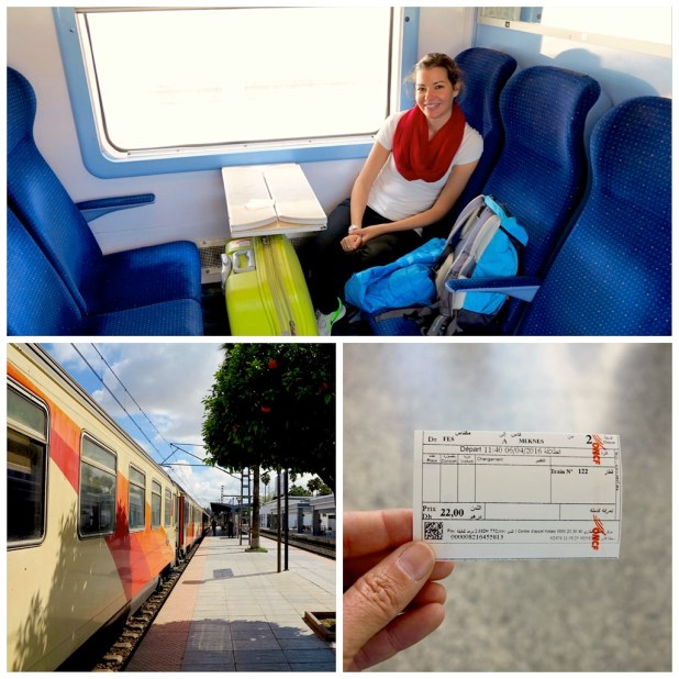 De Fez a Meknes en tren
