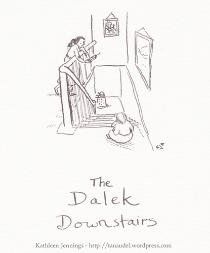 The Dalek Downstairs