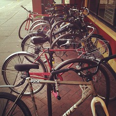 Bikes Outside The Job Fair