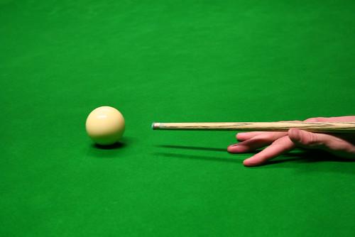 Snookerstoss - Snooker spielen