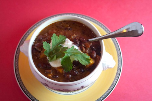 Sweet Potato Black Bean Quinoa Chili (2 of 3)