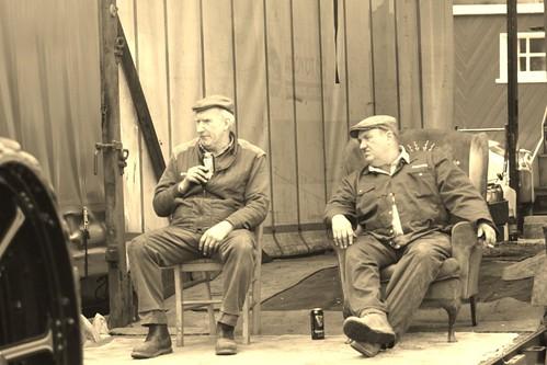 Guinness time at the Steam Fair!