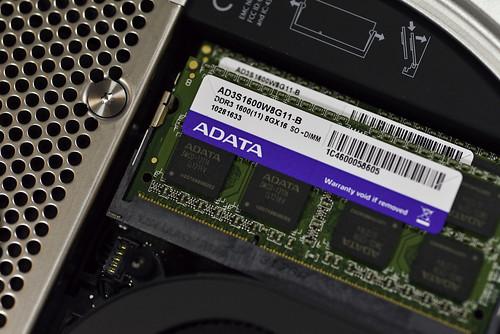 裝上新 RAM