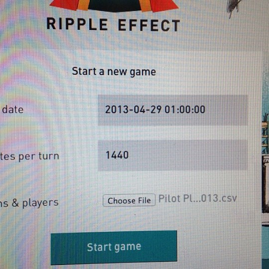 Flipped the switch on the Ripple Effect pilot. 90+ players putting our game through the motions for two weeks. #kaigara