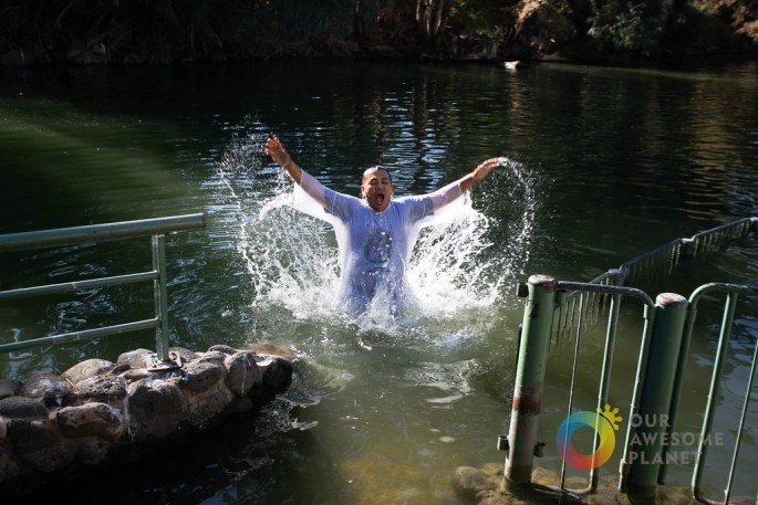Day 3- Renewal of Baptism Vows at Jordan River - Our Awesome Planet-116.jpg