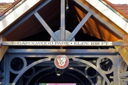 Carolwood Park sign - Storybook Circus