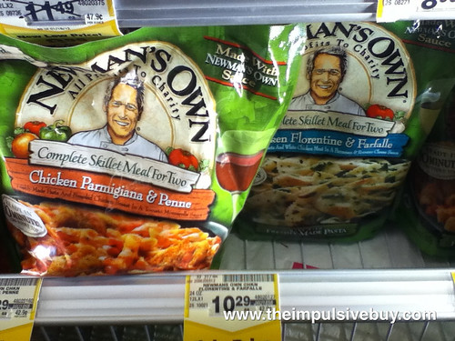 Newman's Own Complete Skillet Meal for Two on shelf