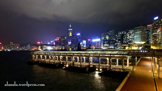View from Ferry Pier, Central , Hong Kong