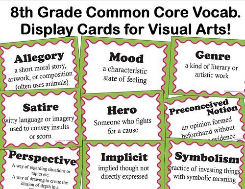 8th grade common core advert