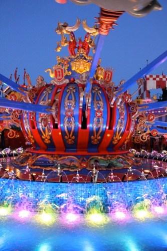 Dumbo at dusk - Storybook Circus
