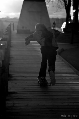 Saint John : Skateboarding on the Dock