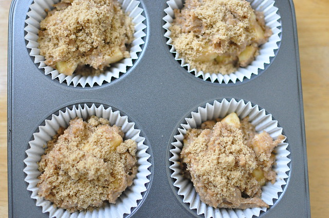 whole wheat apple muffins 02