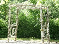 natural wedding arches