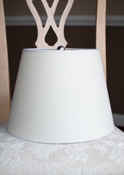lampshade recover