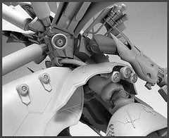 Resin Kit 1100 Nightingale  Neograde Refined Version Built (11)